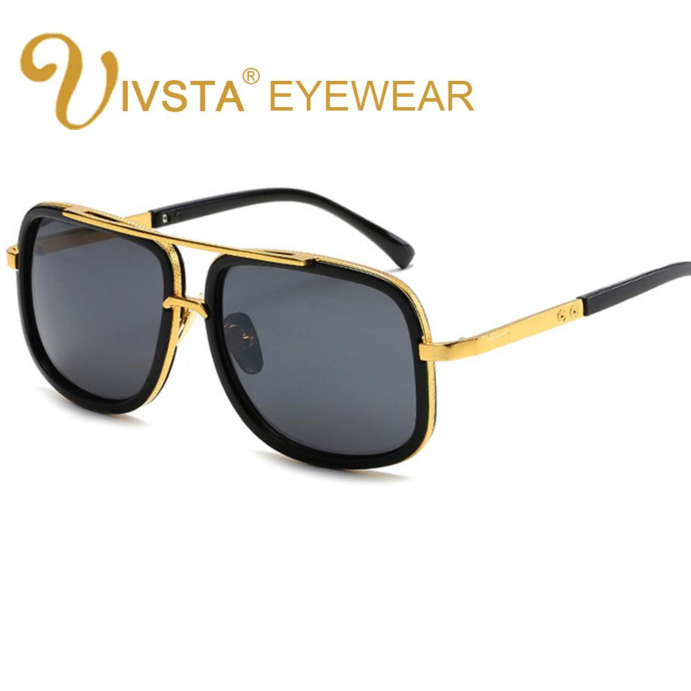 3d7c9d28398 IVSTA Oversized Sunglasses Men Steampunk Sunglasses for Men Male ...