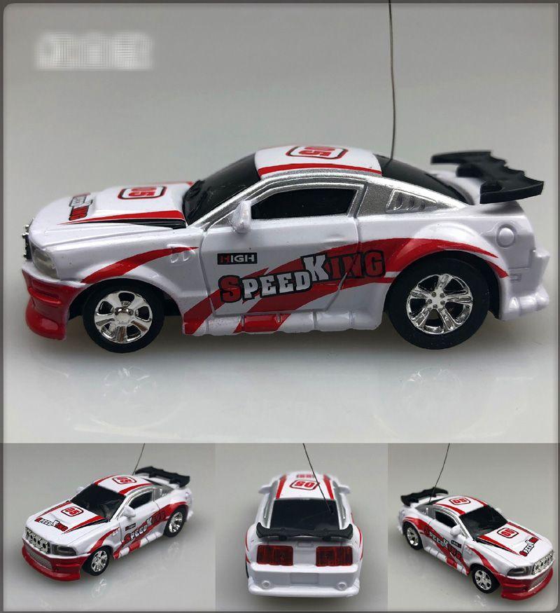 Новый 8 цвет Mini-Racer Пульт Дистанционного Управления Автомобильная Кока-Кола Мини RC Радио Пульт Дистанционного Управления Micro Racing 1:64 Автомобиль 8803 B