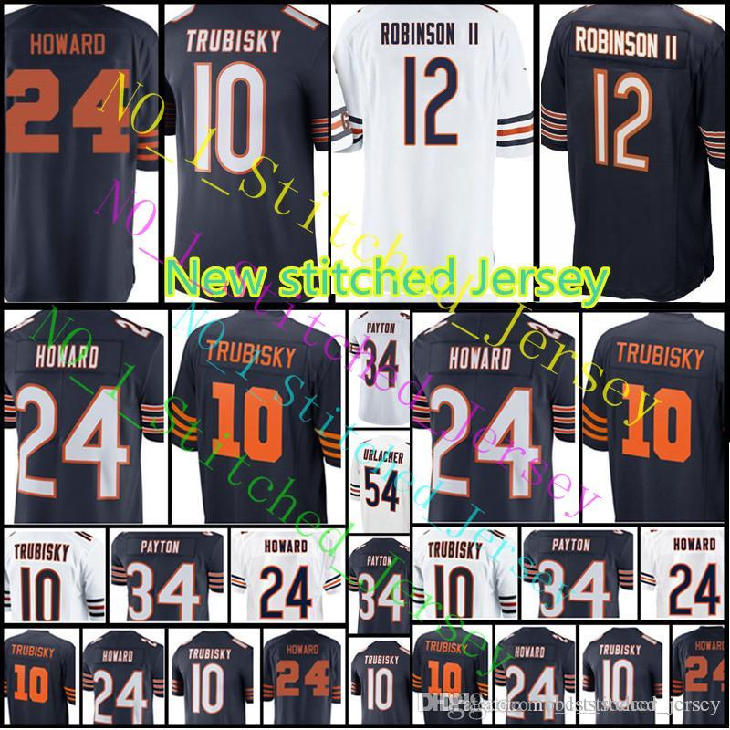 ... best price men chicago bear jersey 12 allen robinson ii 10 mitchell  trubisky 24 howard 34 35fa14872