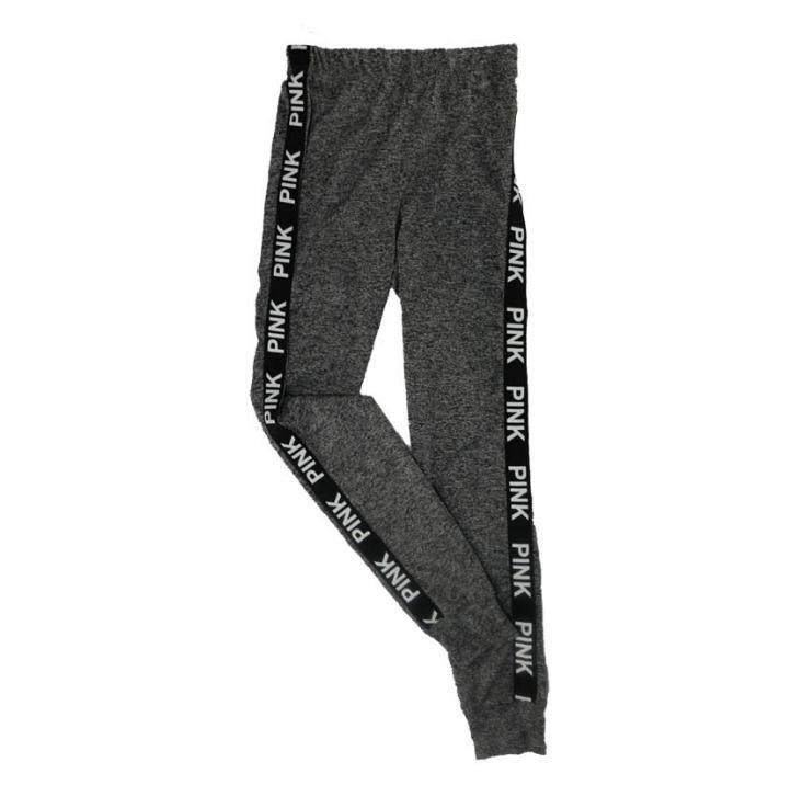 2018 Bahar Yaz sıcak satış Spor süper sıska joggers kadınlar için pantolon pantolon elastik bel ince legging Pantolon kalem ...