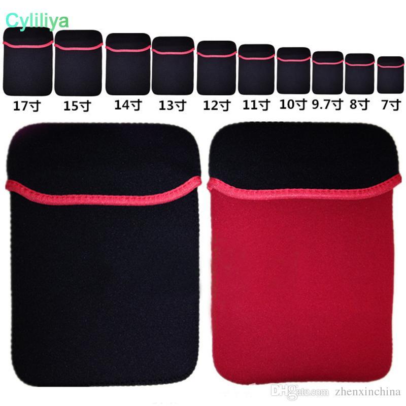 7f44cefda5be1 7-15 polegada bolsa de laptop bolsa protetora de neoprene suave sleeve case  bag para 7
