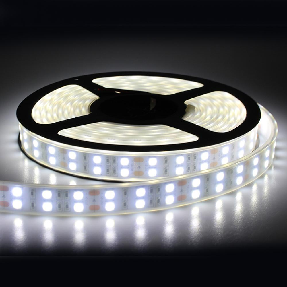 Tanbaby Wateproof Silicone Led Strip Smd 5050 120led/M Double Row Stripe Ribbon Outdoor Lighting 5m 600led Dc12v Rgb/Warm/White Outdoor Led Light Strips ... & Tanbaby Wateproof Silicone Led Strip Smd 5050 120led/M Double Row ...