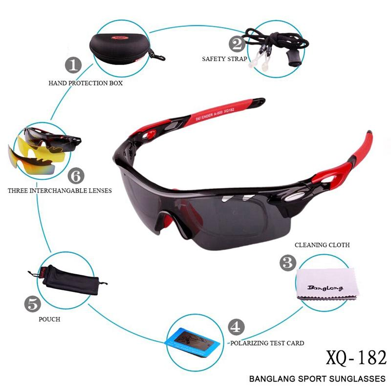 2721e44b569e 2019 Polarized Sports Men Sunglasses Road Cycling Glasses Mountain Bike  Bicycle Riding Protection Goggles Eyewear 3 Lens From Dinaha