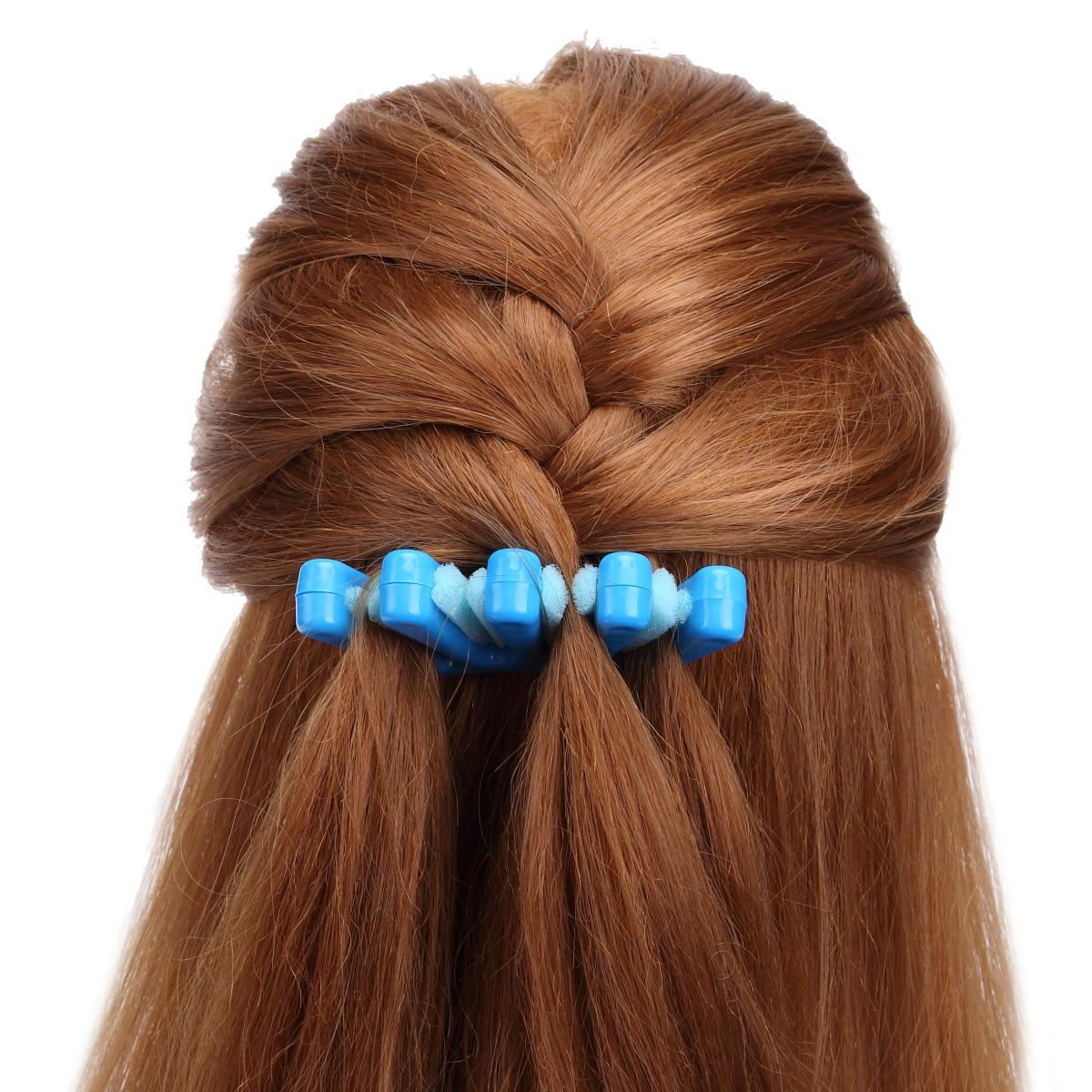 2 colori signora francese intrecciatura dei capelli strumento tessitura spugna intrecciatura dei capelli twist acconciatura treccia accessori fai da te