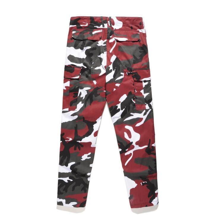 Acquista Pantaloni Cargo Cargo All ingrosso Streetwear Donna Pantaloni  Pantaloni Mimetici Arancione Gialli 18 Pantaloni Jogger Casual Army Red  Pink Camo ... 6121a1c2accb