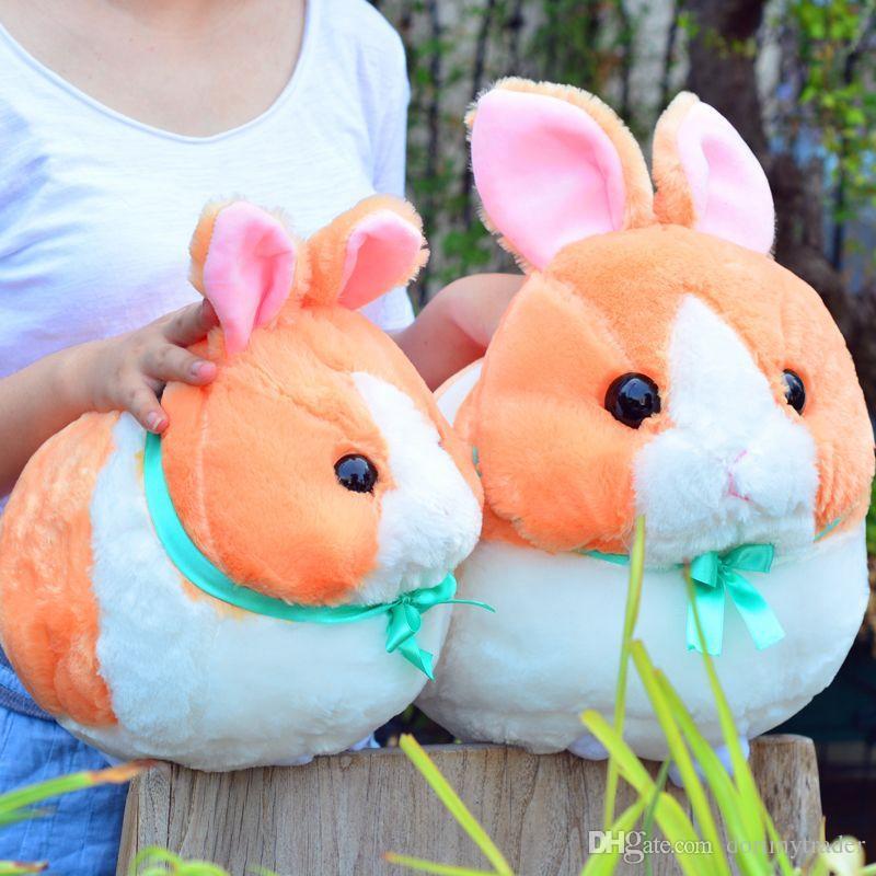 Lovely Soft Animal Bunny Plush Doll Big Stuffed Cartoon Rabbit Toy Animals Pillow Kids Gift Decoration 17inch 42cm DY50054