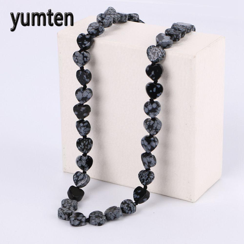 2019 Yumten Alabaster Heart Power Necklace Square Stone Natural Crystal Jewelry Mens Jewelry Feminino Chocker Body Chain Atacado Gift From Fenkbao, ...