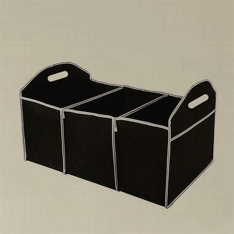 2018 Non Woven Car Trunk Storage Container Bag High Capacity Black