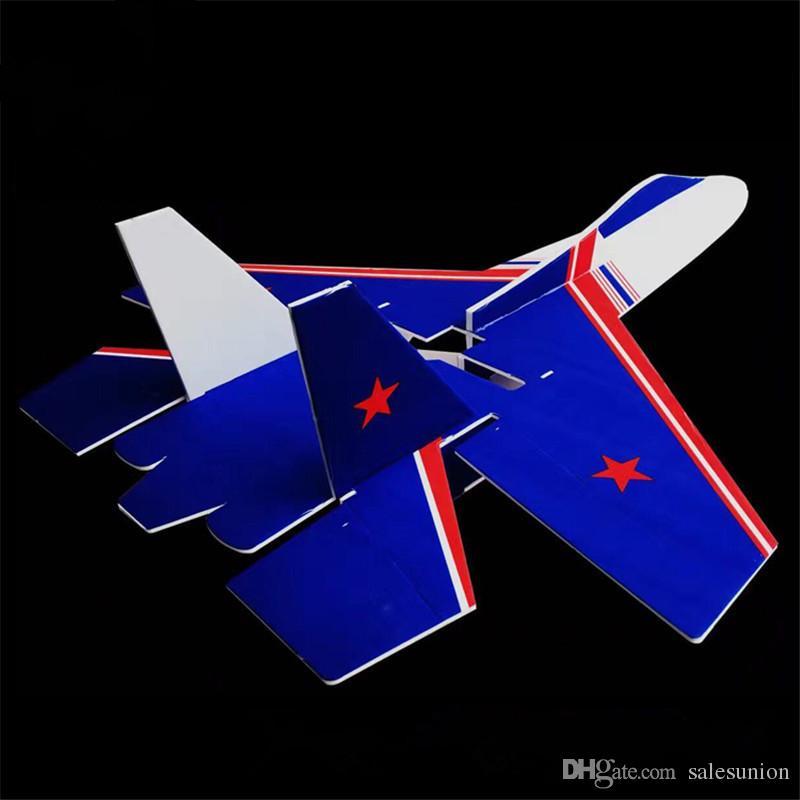 Yanıp Sönen Led Jet Paramparça Dayanıklı Köpük Modeli Rc Düzlem Elektrikli 6ch Uzaktan Kumanda Uçak Oyuncaklar Damla Nakliye