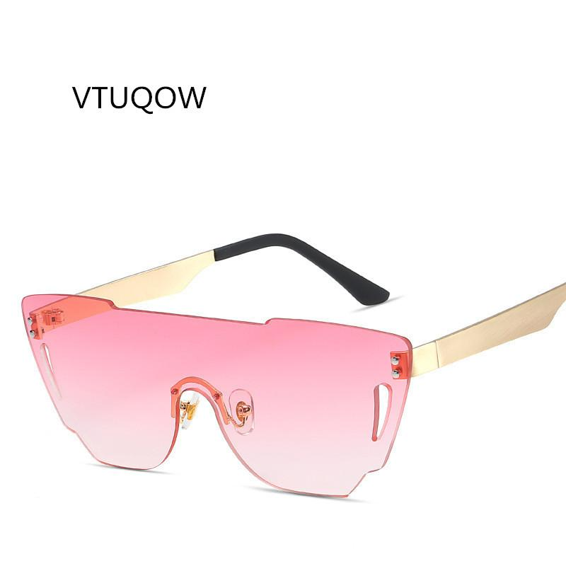 a71df4341b 2019 Newest Rimless Sunglasses Women Men Brand Designer Personality Sun  Glasses For Women Men Metal Mirror Eyewear UV400 Unisex Cheap Sunglasses  Mens ...