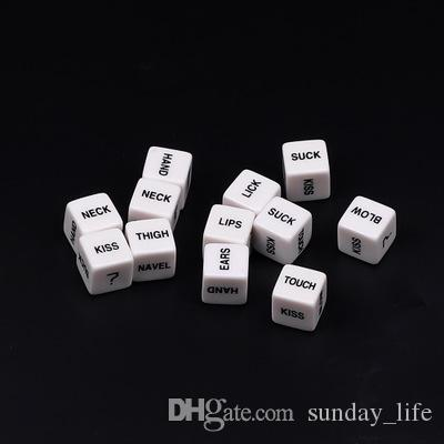 Lowest Price Sex Playing Dice Funny Adult Dice Game Love Romance Erotic Toy Sex Toys for Couples Dados Rpg