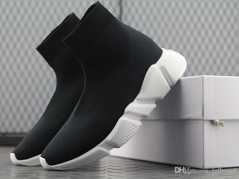 2020 nachrichten verkauf Socke Schuhe BAL * NCI * GA Freizeitschuh Geschwindigkeit Trainer Hohe Qualität Turnschuhe Geschwindigkeit Trainer Socke