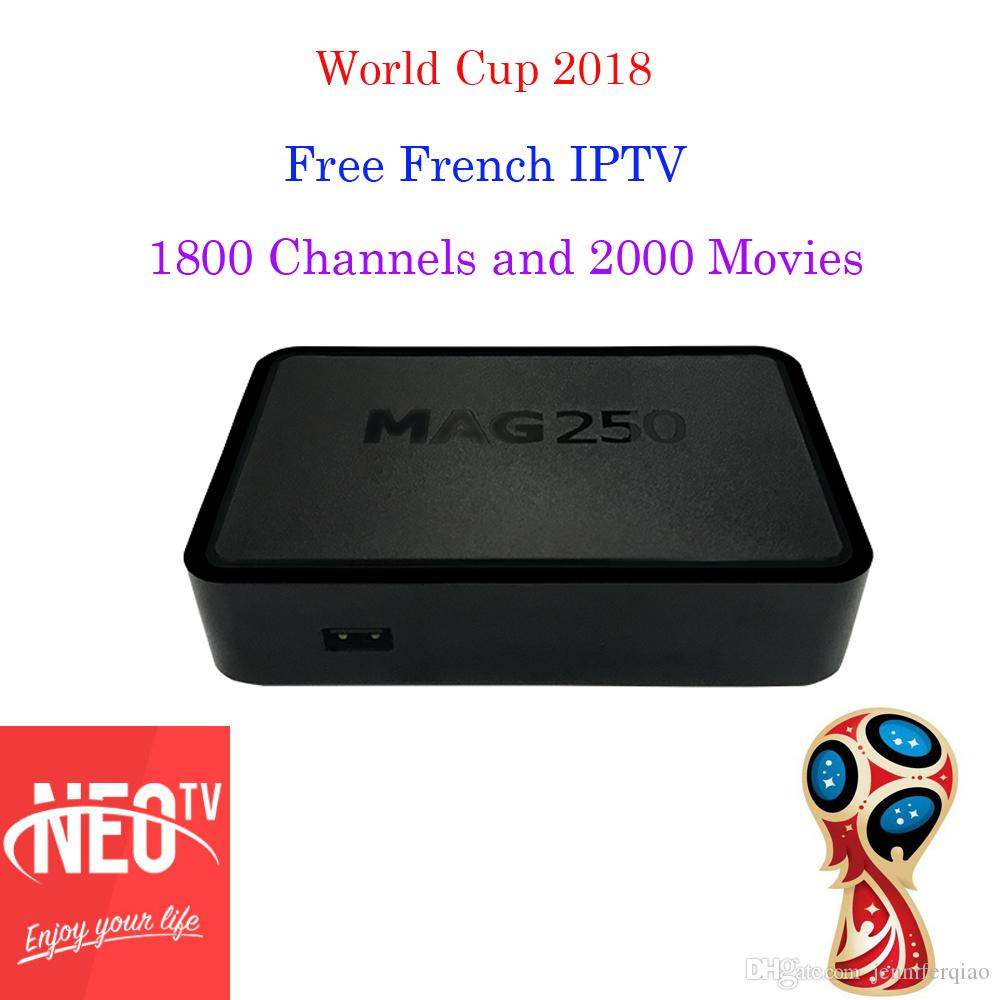 Neotv iptv subscription Neopro French Arabic spanish Italian Mag250 stream  mediao player one year M3u android tv box