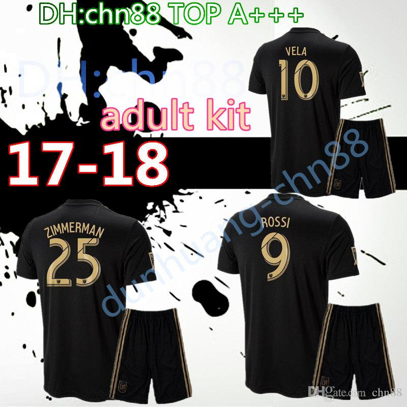 077a1301a NEW Arrived 2018 LAFC Carlos Vela Men Kits Soccer Jerseys 18 19 Home GABER  ROSSI CIMAN ZIMMERMAN Home Away Football Shirt Los Angeles Fc UK 2019 From  Chn88