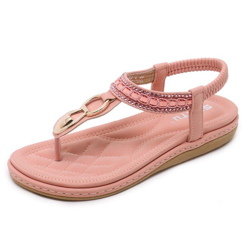 26fdd30ebeca 2018 Summer New Fashion Large Size Comfortable Flip Flops Sandals ...