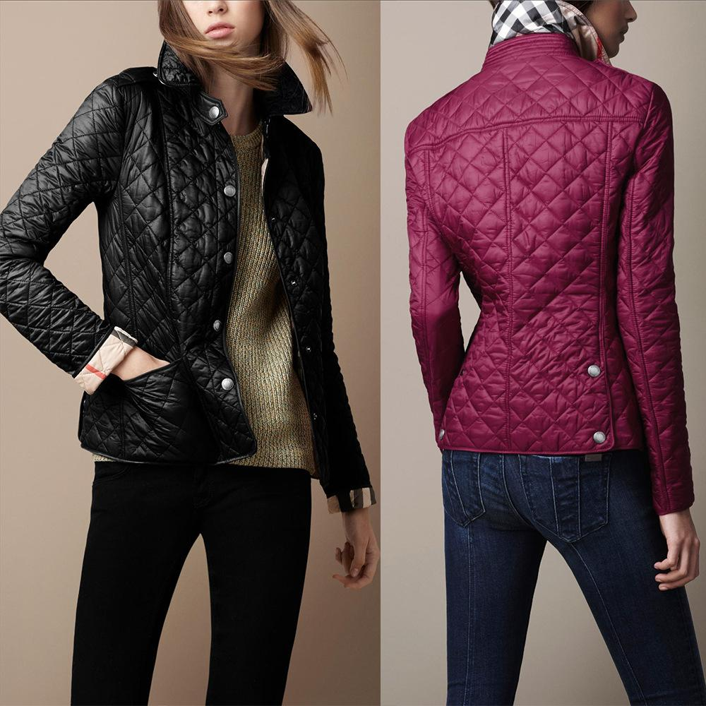 Women Jacket Slim Padded Women Coat Small Jackets Quilted Jackets