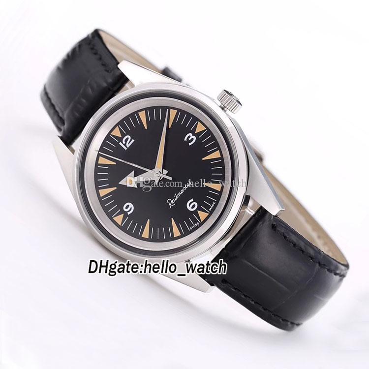New 300m 234.10.39.20.01.001 Black Dial Japão Miyota 8215 Caso Prata Automático Mens Watch Aço Inoxidável Banda Gents Relógios