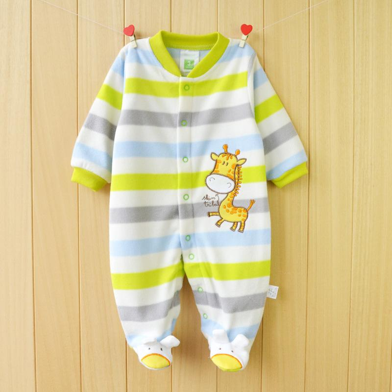 03ad94856 New 2015 Autumn  Winter Baby Rompers Clothes Long Sleeved Coveralls ...