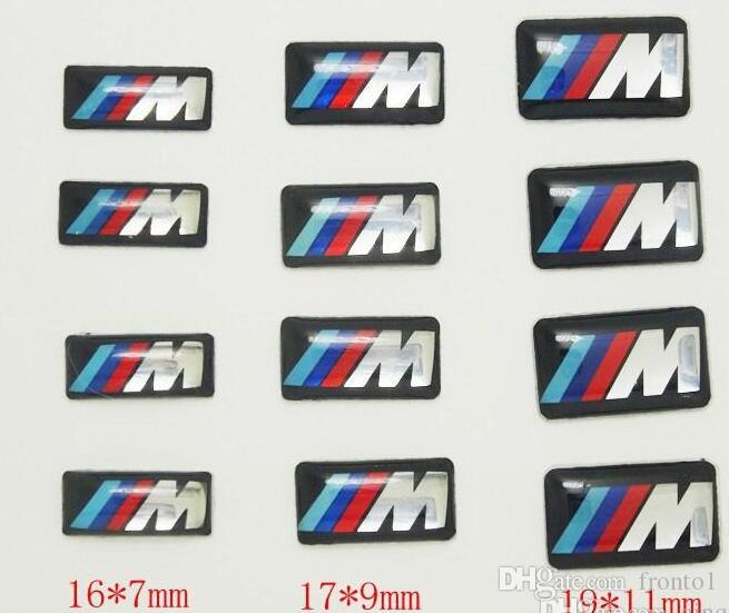 Tec Sport Wheel Badge 3d Emblem Sticker Decals Logo For Bmw M Series