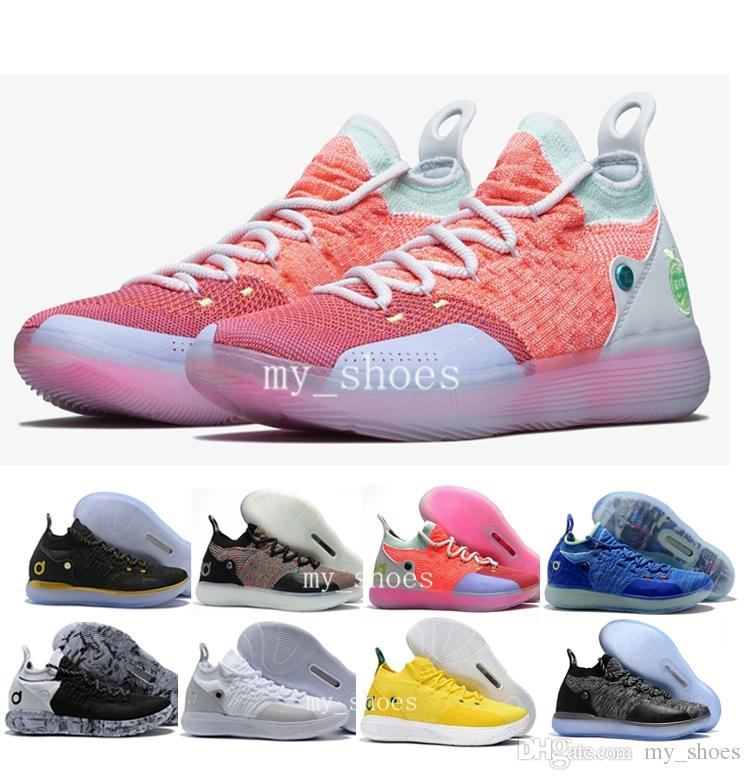 hot sale online 438f9 b1233 2019 2018 New Mens KD 11 XI Oreo Paranoid Basketball Shoes Brand Sneakers  Men Trainers Designer Kevin Durant 11s KD 10 Sneakers Size 7 12 From  My shoes, ...