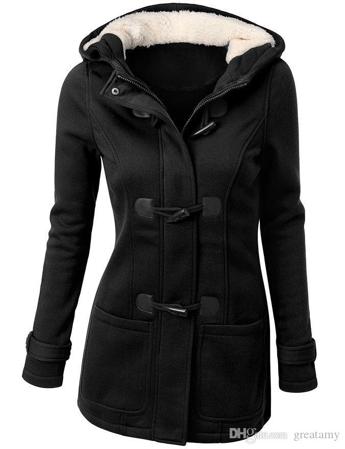 3a6a8e3d9 Hot Sale Women Jacket Clothes New Winter Outerwear Coat Thick Girls Clothes  Lady Clothing With Hooded Top Quality Girls Coats With Hoods Girls Dress  Winter ...