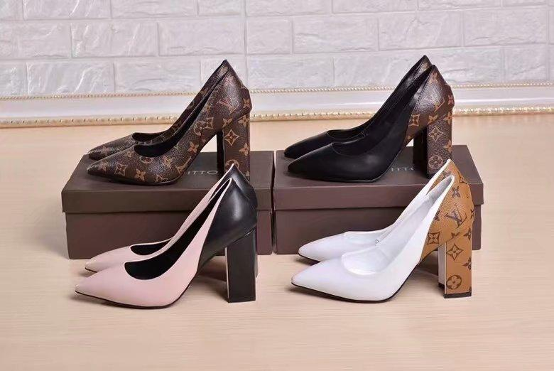ccf5b794468 Women Shoes High Heels Ankle To Increase the Height Formal Pure Color Home  Wear-resisting Anti-skid Package Mail Spring And Fall High Heels Ladies  Fashions ...