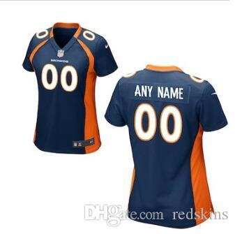 timeless design 079b5 fd20c 2019 58 Von Miller Jersey Denver Broncos Bradley Chubb Phillip Lindsay Blue  White retro Team Color football jersey Athletic Outdoor Apparel