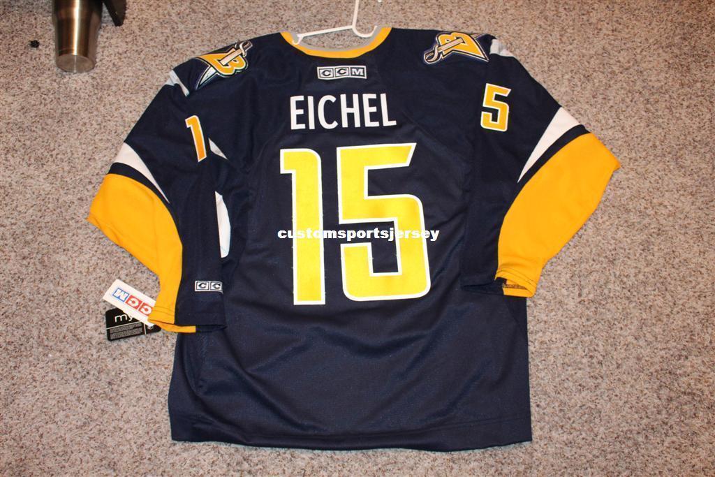 Cheap Custom NEW Vintage Jack Eichel Hockey Jersey CCM Buffalo ... 1499497c4cd