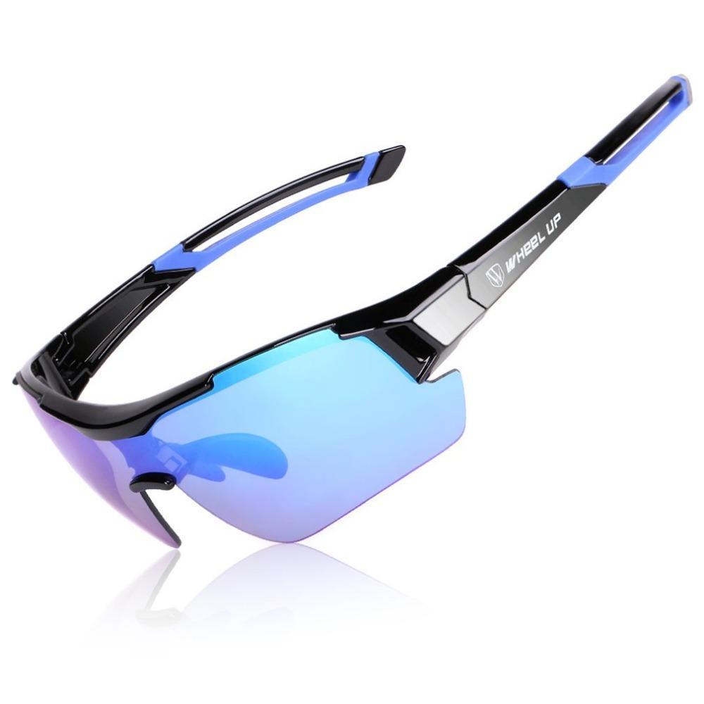 516dd8c730 WHEEL UP 3 Lens UV400 Cycling Eyewear Men Women Waterproof Coating ...