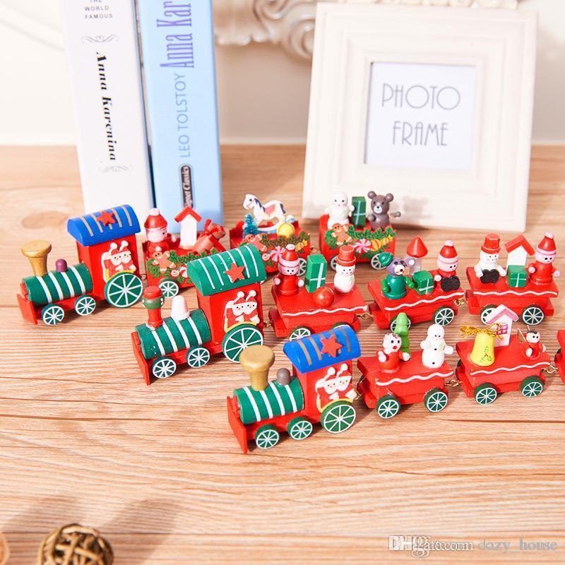 Großhandel Weihnachtsschmuck Für Zuhause Weihnachten Holz Little ...