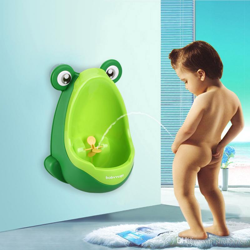 Mur monté urinoir garçons urinoir de haute qualité bébé toilette formation urinoir montage mural en plastique toilettes rainure pour les enfants de moins de 6 ans