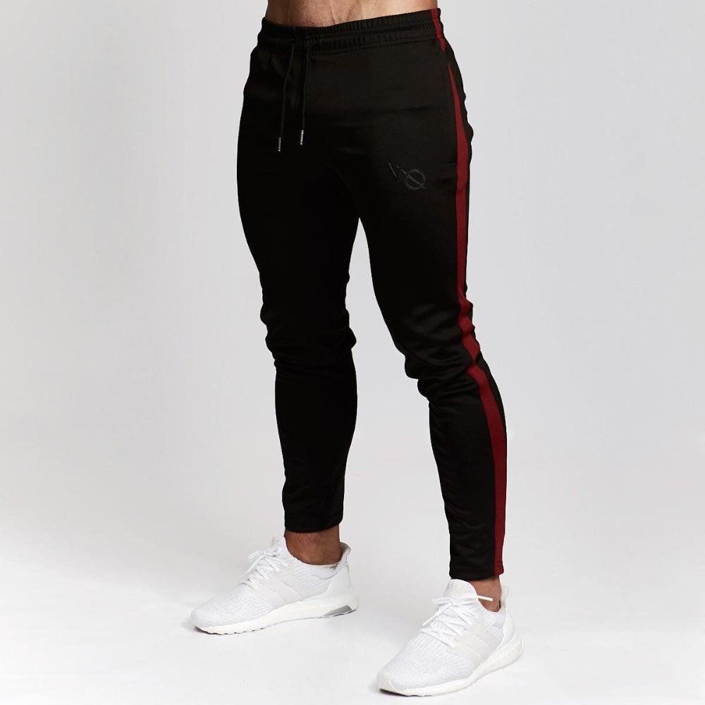 Men Joggers Cotton Sweatpants Man New Running Workout Training Trousers Male Gym Fitness Bodybuilding Pants Sportswear Bottoms High Standard In Quality And Hygiene Sports & Entertainment