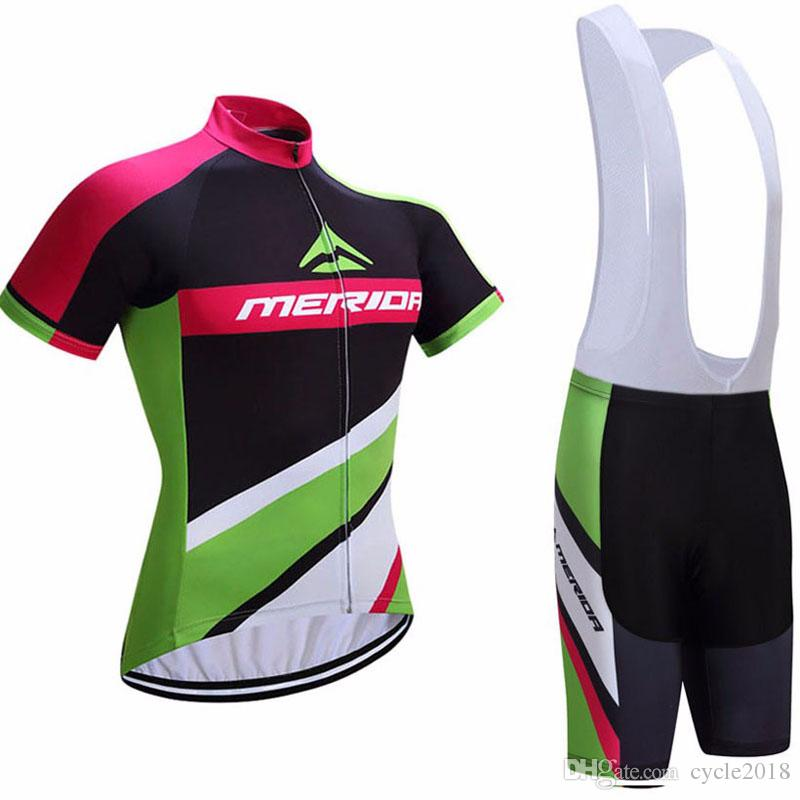 Tour De France MERIDA Team Cycling Jersey 9D Gel Pad Wear Bib Shorts ... 8f6c47fa9