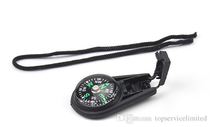 Herramientas al aire libre de 20 mm Mini tamaño Senderismo y camping brújula de bolsillo portátil con Rop, envío libre de DHL