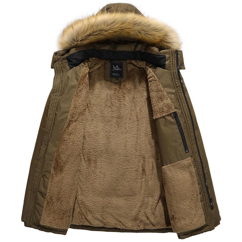 the latest 64bca 89a82 Giacche invernali da uomo con cappuccio isolato Liquidazione Giacche e  giubbotti da uomo Cappotti leggeri e grandi dimensioni 5XL