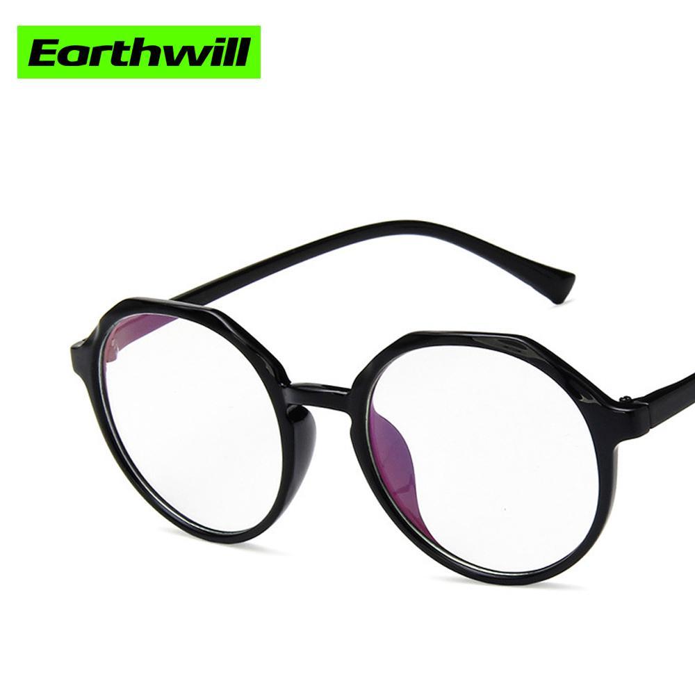 dbc2a374ee Compre Espejo Plano Irregular Polígono Gafas Literarias Montura Monturas De Gafas  Negras A $24.15 Del Lovesongs | DHgate.Com