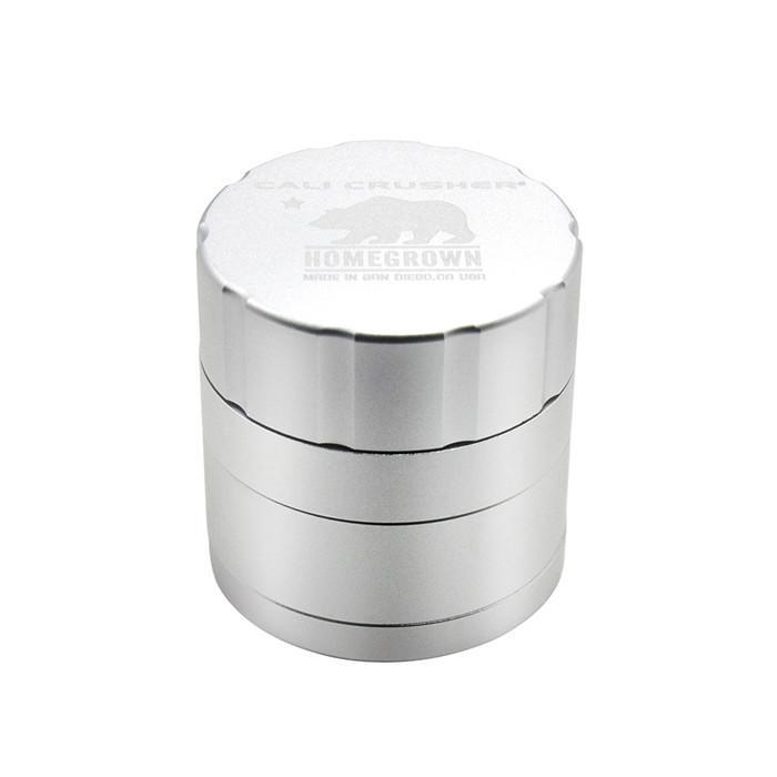 Cali Crusher Grinder 4Layers 42mm 53mm Tobacco Metal Aluminium Alloy Herb Spice Crusher Gift Box herbal vaporizer Grinder W05C