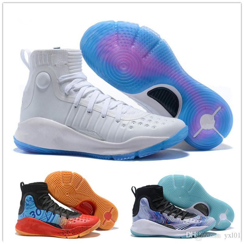 01c2c8537ad1 2018 Kid Young 4 All Star Kid S Women Men Basketball Shoes High Quality 4s  IV Black White Gold Boy Children Athletics Sports Sneakers 36 46 Sneakers  Shoes ...