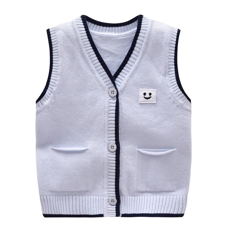Großhandel Casual Baby Pullover Stricken Baumwolle Jungen Weste ...