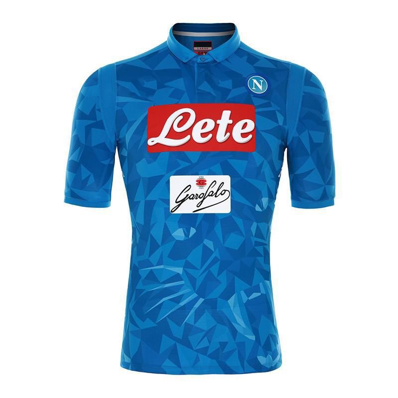 buy online fef14 b9cb2 18 19 Serie A Naples New Napoli home soccer jerseys Napoli blue football  Jerseys Shirt for men 2018 2019 HAMSIK L.INSIGNE PLAYER Shirt