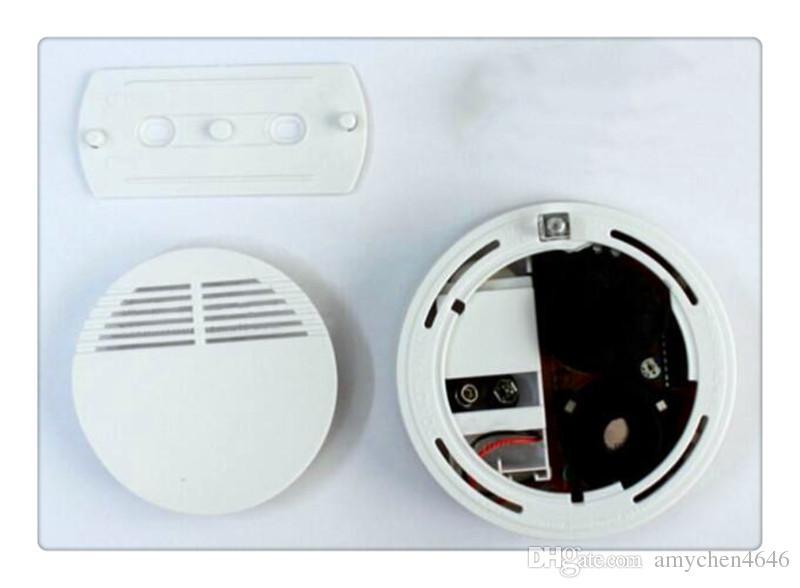 Rilevatore di fumo all'ingrosso Versione Bianco Sistema di sicurezza domestica Fotoelettrico Rilevatore di fumo indipendente Allarme antincendio con