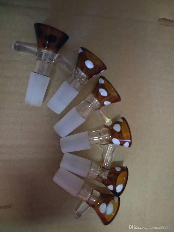 Цвет точки воронка, Оптовая бонги масляной горелки трубы водопроводные трубы стеклянные трубы нефтяные вышки курение Бесплатная доставка