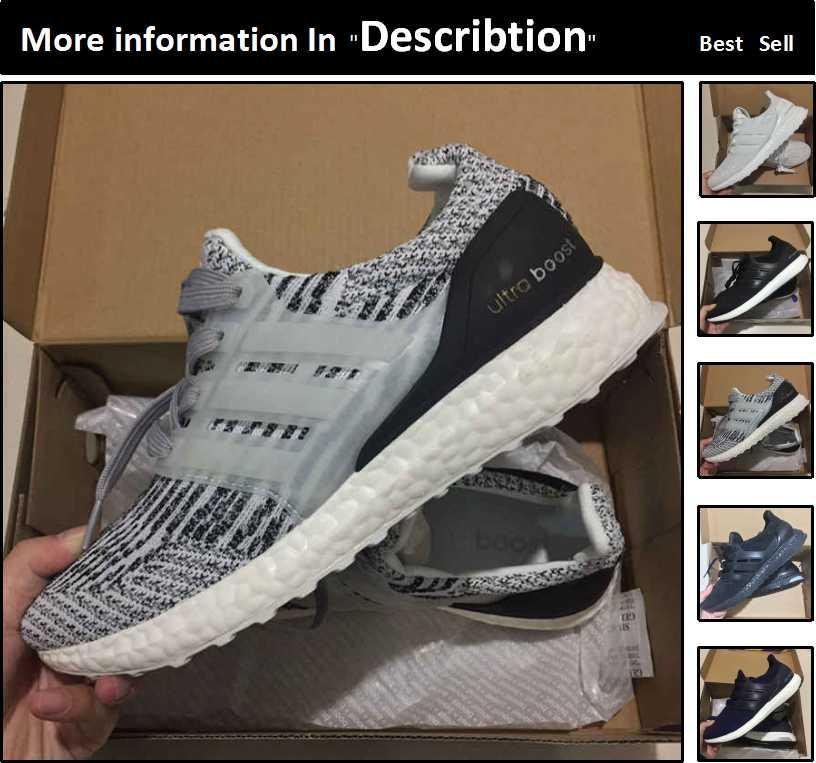 huge discount 40ad9 a110a Compre Adidas Ultra Boost 3. 0 Ultraboost 4.0 Zapatos Corrientes Al Por  Mayor Mujeres Hombres Zapatillas Deportivas Causales Baratos Mejores Nuevos  Zapatos ...