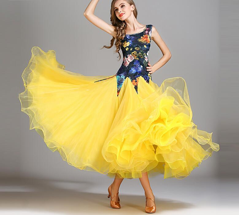 bd7f36d2d 2019 Ballroom Dance Costumes Sexy Spandex Sleeveless Standard Ballroom  Dress Dance Competition Dresses For Girls MY793 From Redbud06, $115.64 |  DHgate.Com