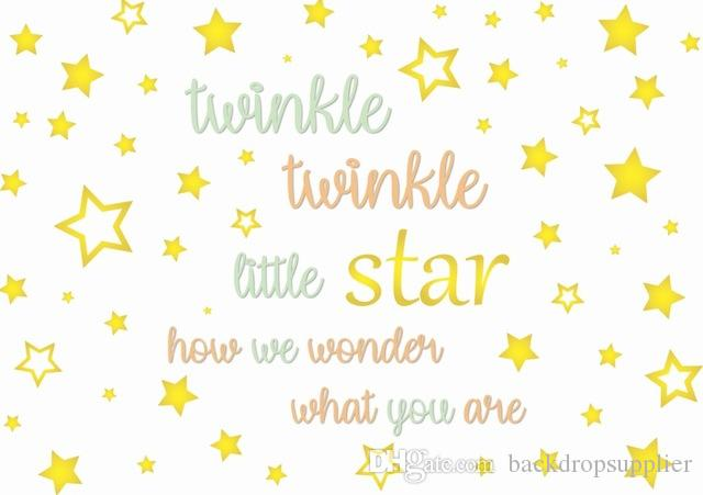 7x5ft Twinkle Twinkle Little Star How We Wonder You Are