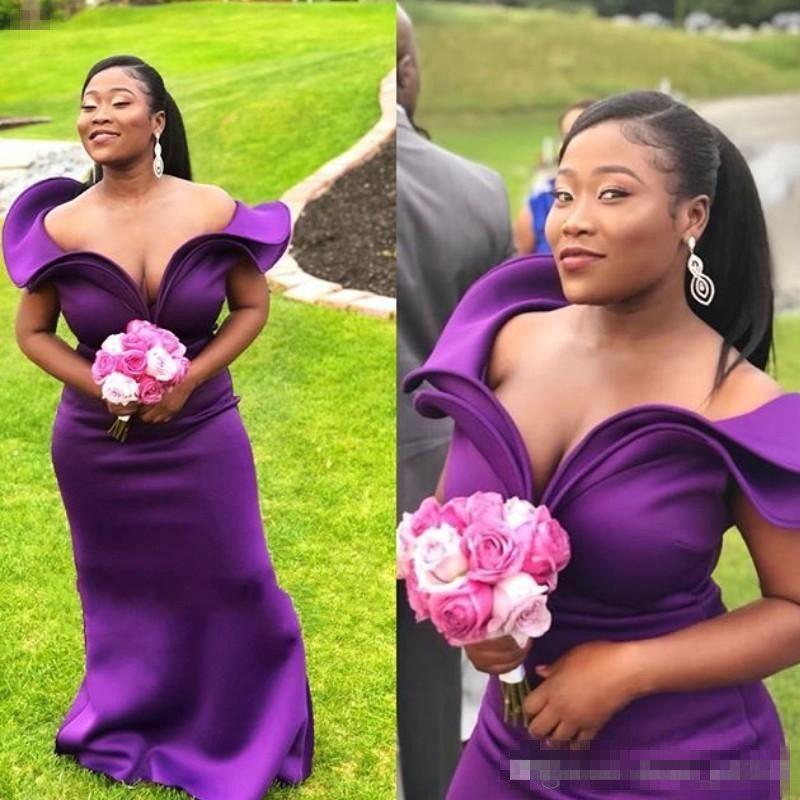 Purple and Turquoise Blue Bridesmaid Dresses