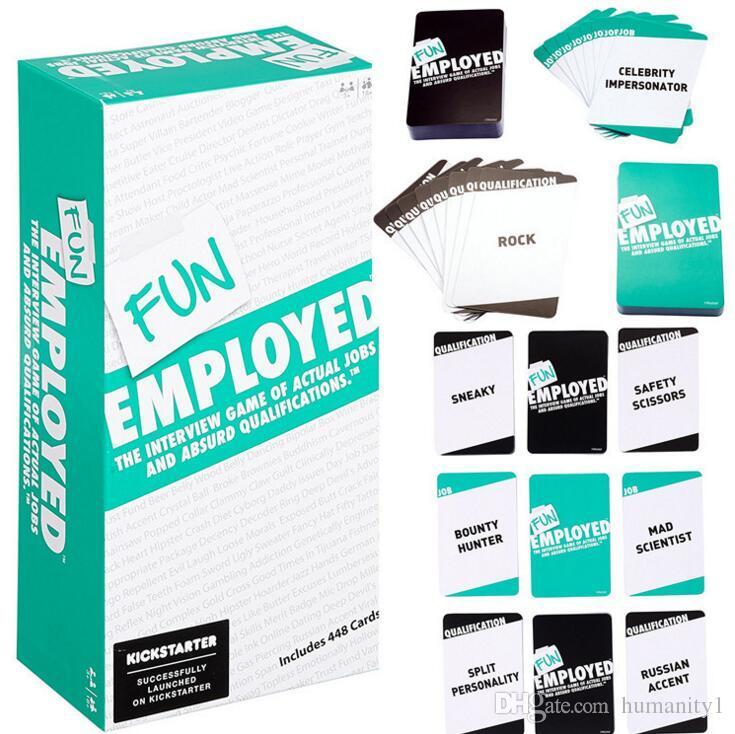 exploding funemployed funny work anti human card similar board games