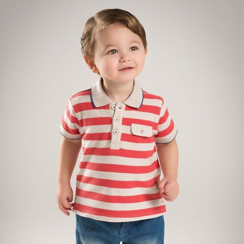 2019 Brand Children Boy Clothing Kids Baby Boy Casual Polo Shirts