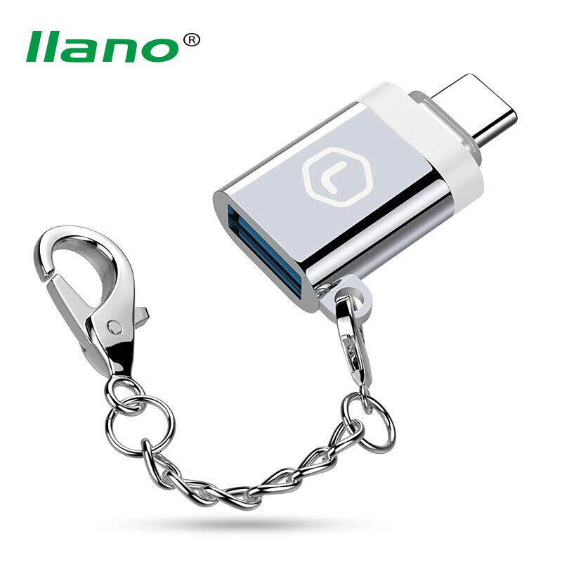 llano USB Type C Adapter USB Type-C Male to 3.0 Female OTG Adapter Converter for New Macbook Huawei P9 Xiaomi 4C Nexus 5X 6P