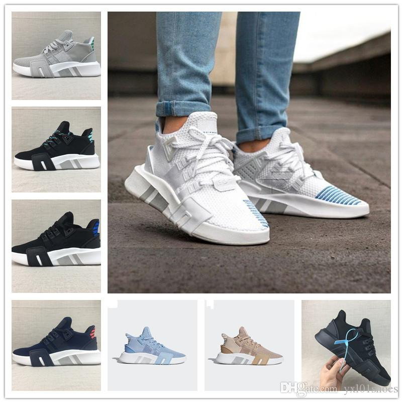 cheap for discount f828b cdf65 Hot Sale EQT BASK Support Sports Running Shoes for Men Women for Good  quality All Black White Grey eqt Knit Casual jogging Sneakers 36-45